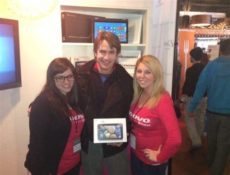 Mandy Creates Splash At Sundance by Lenovo Ideapad Makes A Splash At Sundance