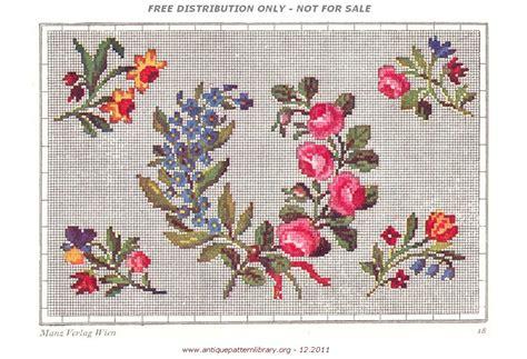 antique pattern library embroidery 1000 ideas about vintage point de croix on pinterest