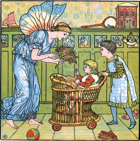 The S Bouquet by The Baby S Bouquet Walter Crane