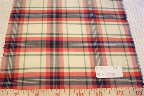 Patchwork Plaid Fabric - madras plaid indian madras plaid fabric patchwork