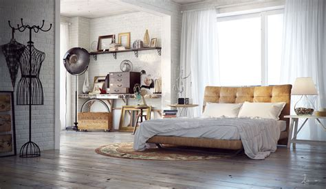 industrial chic decor 21 industrial bedroom designs decoholic