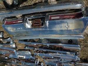 71 Buick Skylark Parts 71 72 Buick Skylark Gs X Rear Bumper