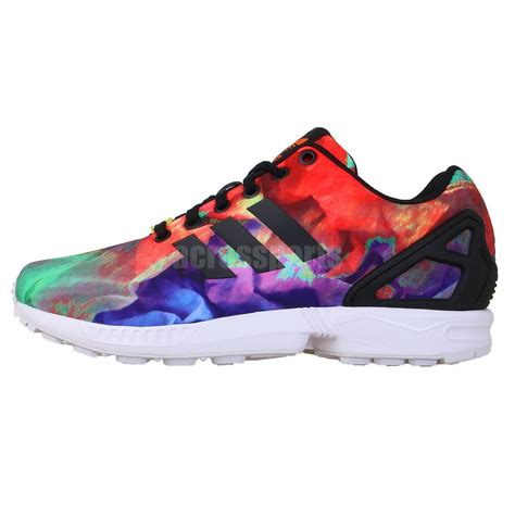 colorful addidas adidas original zx flux st tropez torsion multi color 2014