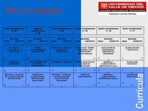 Mba Uvm Plan De Estudios by Ciencias De La Educacion Imss 24