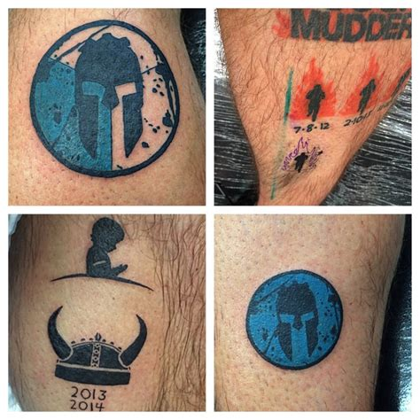 spartan race tattoo spartan race trifecta tattoos www imgkid the image