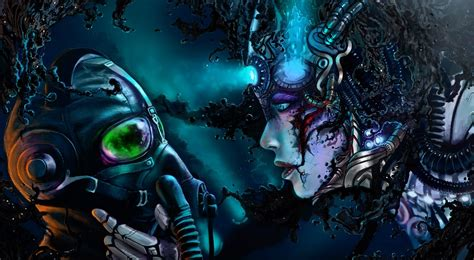 best hd digital cyberpunk digital hd wallpapers