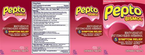 Pepto Bismol Stool Side Effects by Pepto Bismol Information Side Effects Warnings And Recalls