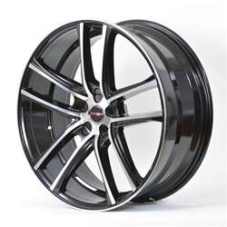 18 Inch Rims For Chrysler 300 4 Gwg Wheels 18 Inch Black Machined Zero Rims Fits 5x115