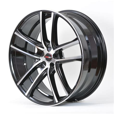 4 gwg wheels 18 inch black machined zero rims fits 5x110