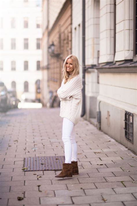 how to wear white in winter 2018 fashiongum