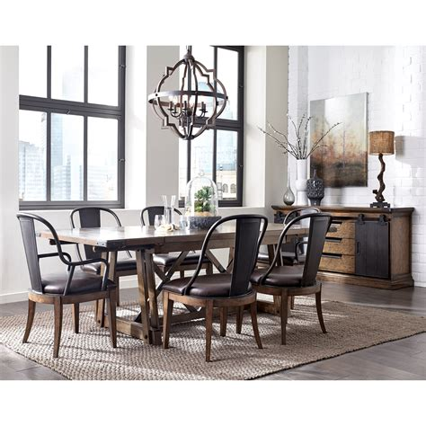 pulaski dining room pulaski furniture weston loft formal dining room group 2