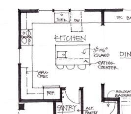 floor plan size kitchen floor plans by size kitchen island dimensions