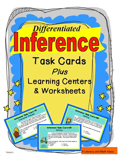 printable inference games literacy math ideas inference games how to make an