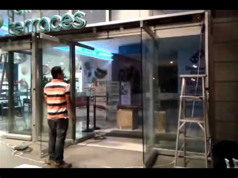 Stanley Automatic Sliding Glass Doors Stanley Automatic Sliding Door Install Adjust And Program