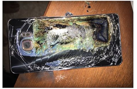 A Samsung Galaxy S10 Has Exploded by Another Safe Galaxy Note 7 Has Exploded This Morning Sammobile Sammobile
