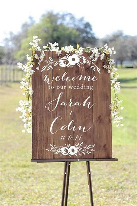 wedding ceremony welcome sign 20 brilliant wedding welcome sign ideas for ceremony and
