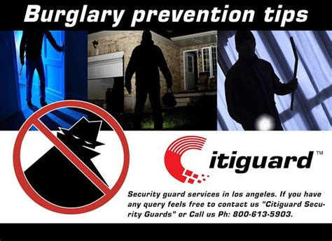 los angeles security guards tips for a safer home