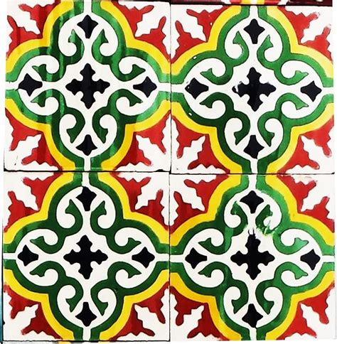 Handmade Moroccan Tiles - home copy moroccan encaustic tiles