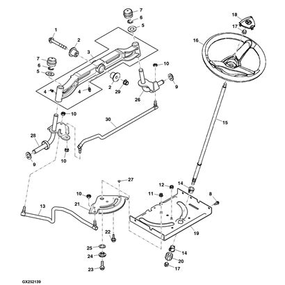 deere lawn tractor parts diagram deere lawn mower parts diagram wiring diagram and