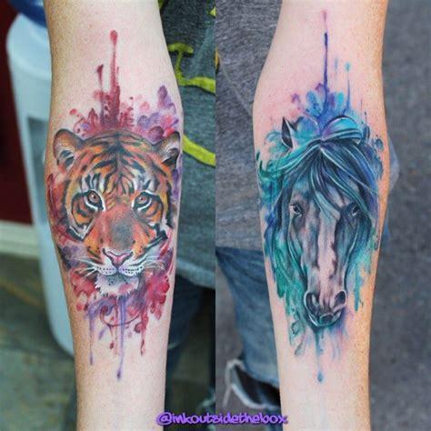 watercolor tattoo fail beautiful watercolor tattoos by inkoutsideofthebox