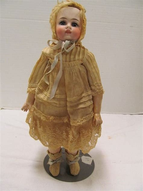 house of berkeley porcelain doll 85 antique porcelain doll w jointed composite body 12 quot t