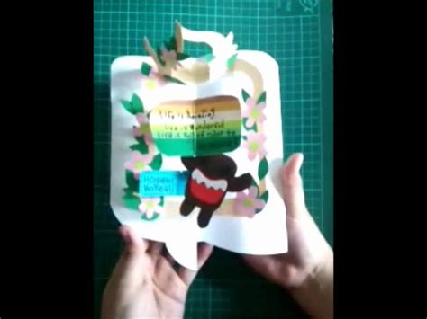 making mechanical cards 1861086350 mechanical and pop up card youtube