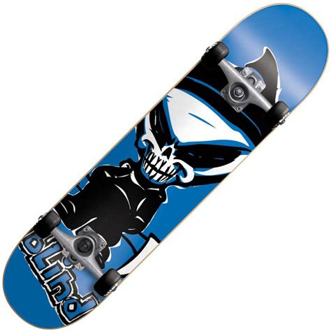 Skateboard Blind blind skateboards blind saver reaper blue mini complete skateboard blind skateboards