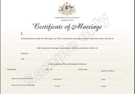 certificate of marriage template 7 marriage certificate