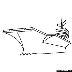 coloring page aircraft carrier collections