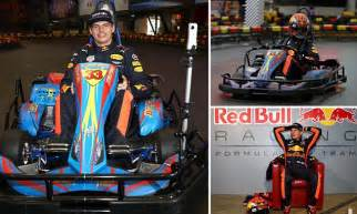 Lyon Work Bench Max Verstappen Takes To The Go Kart Track In Shanghai