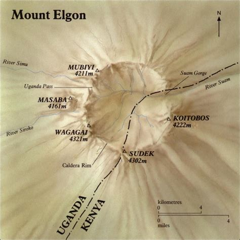 skiing  pacific ring  fire   mount elgon