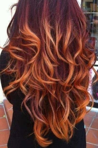 blonde and burgundy hairstyles burgundy with blonde tips love colored strands pinterest