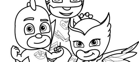 imagenes para pintar heroes en pijama colorear y pintar