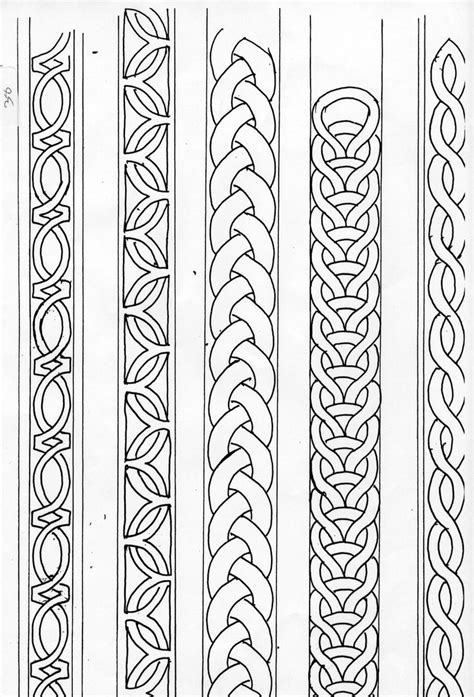 tattoo borders designs 25 best ideas about celtic patterns on celtic