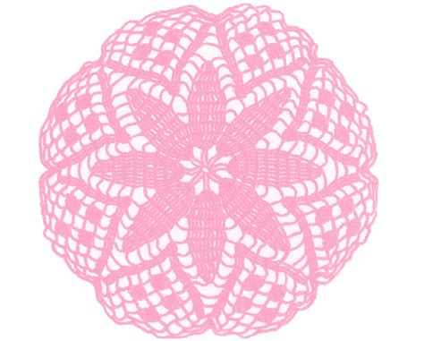 Diskon Dies Flower Circle 7 Dies free vintage doily clip in lots of different colours