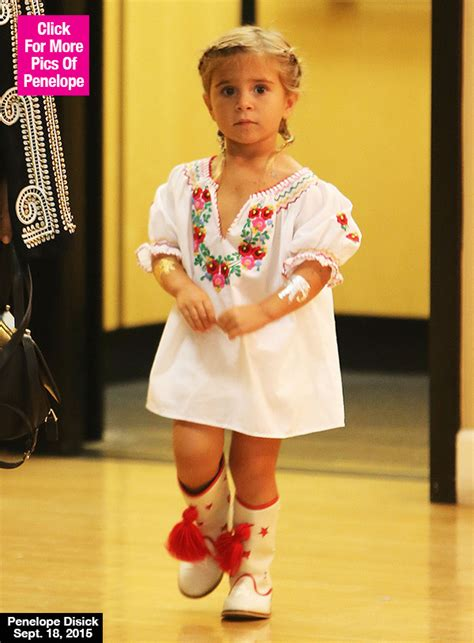 Pics penelope disick s cowboy boots amp braids will melt your heart