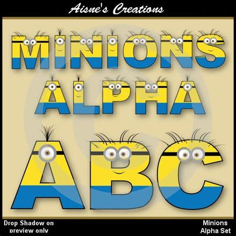 printable minion alphabet letters 9 best images of printable minion alphabet despicable me