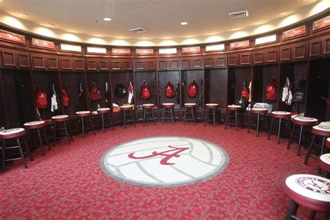 Alabama Locker Room by The Crimson Fan