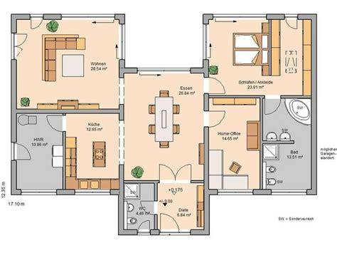 Grundriss Bungalow Modern by Die Besten 25 Bungalows Ideen Auf Bungalow