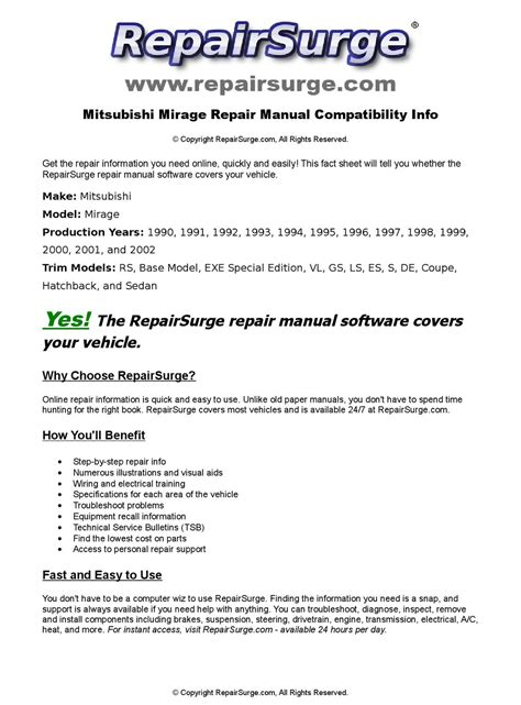 service manual manual repair autos 1997 mitsubishi mirage electronic toll collection service mitsubishi mirage online repair manual for 1990 1991 1992 1993 1994 1995 1996 1997 1998