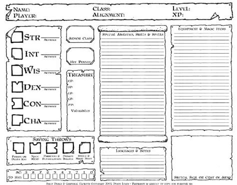 dd 3 5 template list character sheets dyson s dodecahedron