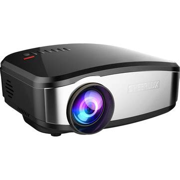 Lu Proyektor Jfashion cheerlux c6 mini lcd portable led projector 1080p hd 800x480 1200 lumens hdmi usb vga av sale