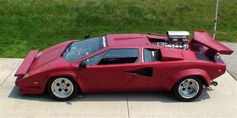 A Pro Street Lamborghini Countach   the STORY on LamboCARS.com