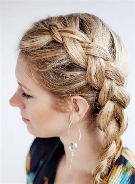german braid hair how do not braid your hair on a daily base if not want to