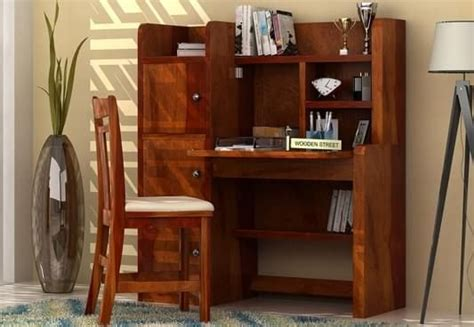 Oak Corner Desk Study Tables Buy Study Tables Online In India Up To 60 Off