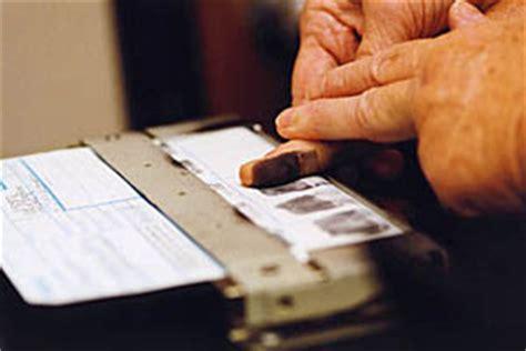 Fingerprint Background Check Locations Fingerprinting Service