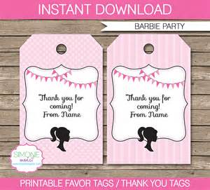 thank you for coming to my template favor tags template thank you tags