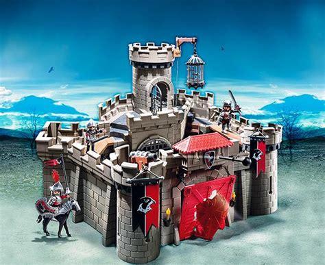 Playmobil Hawk Knights Castle Set playmobil hawk knights castle 6001 table mountain toys