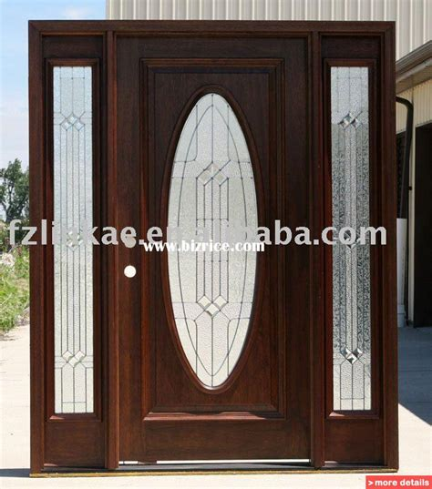 Solid Wood Exterior Doors For Sale Solid Mahogany Wood Exterior Entry Front Doors China Doors For Sale From Fuqing Linkage Import