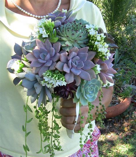 Wedding Bouquets Using Succulents by Succulent Wedding Bouquet Succulent Bridesmaid Bouquet